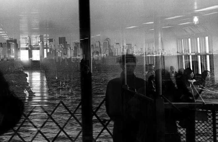 eugene richards:  stepping through the ashes 2001 (staten island ferry)