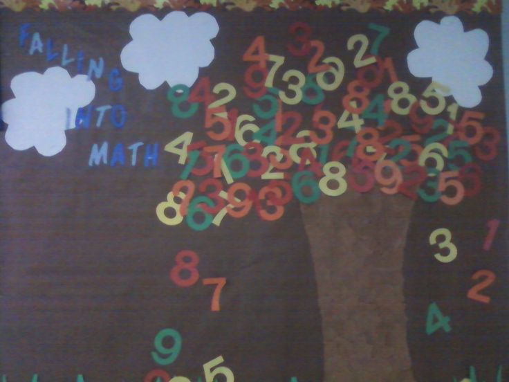 elementary+math+bulletin+boards | Mrs. Begley's Falling Into Math Bulletin Board - Math Concentration