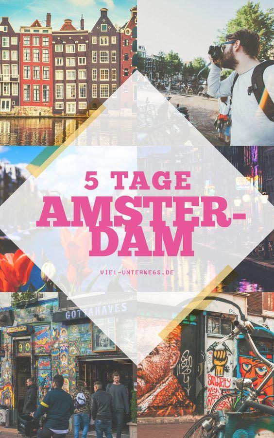 Kurztrip nach Amsterdam: Grachtenfahrten, Food-Tour & Sehenswürdigkeiten