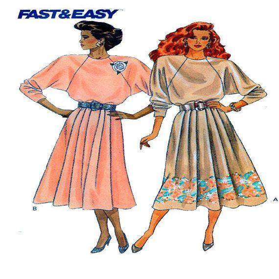 Butterick 6925 Women one piece day dress Sewing Pattern