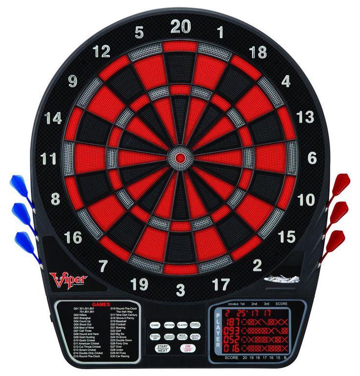 "Viper 797 15.5"" Regulation Size Electronic Dartboard LCD Scoreboard"