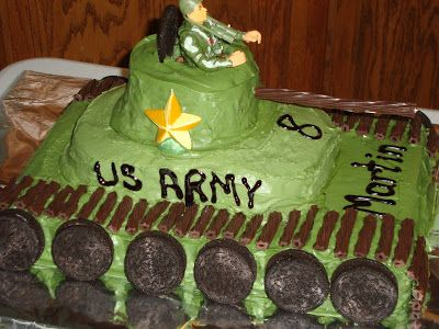 """Martin had his very first """"invite friends"""" birthday party this past Saturday. We had it at our house and made it a soldier theme. I made Mar..."""