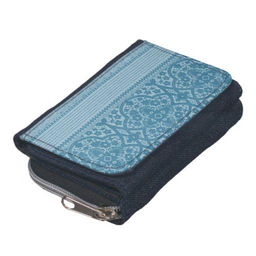 Blue Symphony Wallet