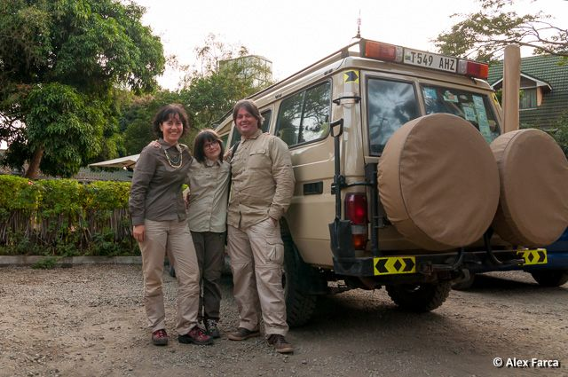 Tanzania, 2014. The end of 4 safari days with our dear daughter!