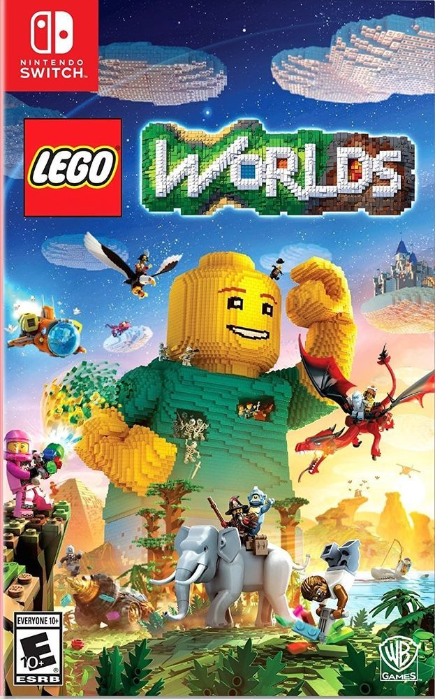Lego Worlds Nintendo Switch Video Game Brand New