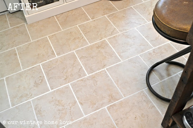 how to keep white grout clean in kitchen
