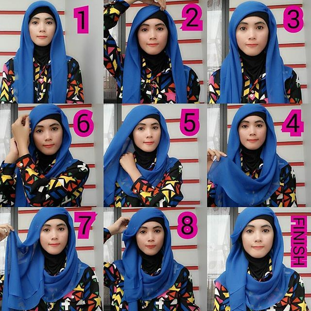 This is an easy loose hijab tutorial you can pair with your underscarf choosing the right colors according to your outfit, it looks so classy and would be very practical for work or school outfits. Here are the steps to…