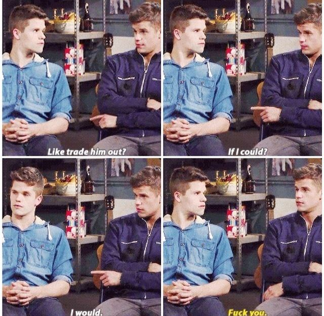 Interview with the twins of teen wolf