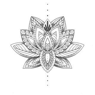 lotus mandala tattoos - Google zoeken                                                                                                                                                                                 More