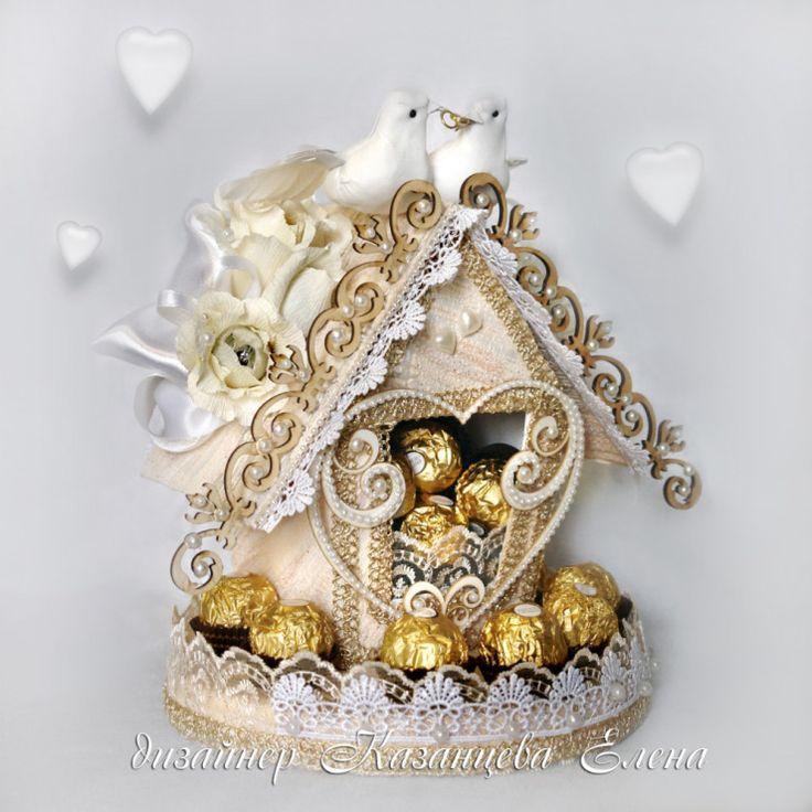 Gallery.ru / Фото #21 - свадебные композиции с конфетами - kazantceva
