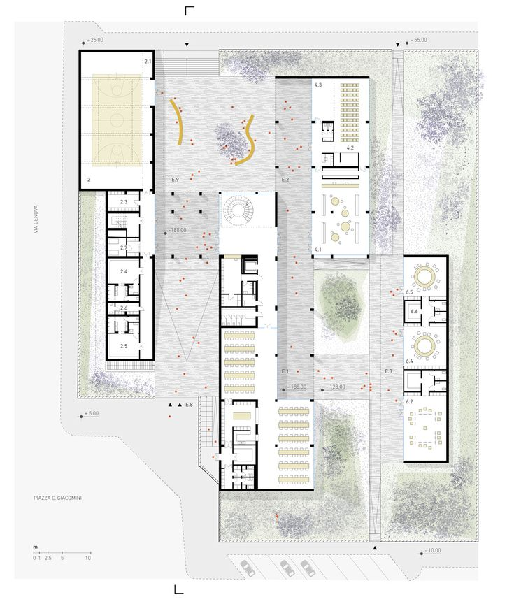 Enrico Fermi School, Wow Architettura – BETA
