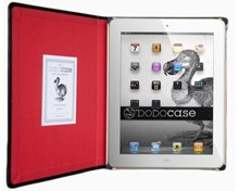 DODOcase: With the look and feel of a hardbound book, this case coddles your iPad in a strong bamboo tray. And because it looks like a book, it's less likely to be snatched. Price: $59.95.
