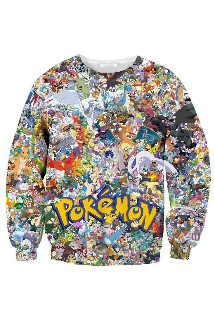 Pokemon Pullover – 8cubes