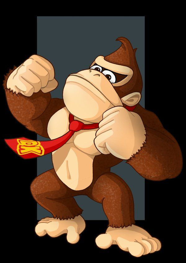 donkey kong by nightwing1975.deviantart.com on @DeviantArt