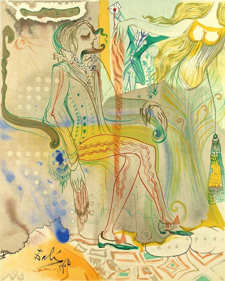 Salvador Dali: Marquis de Sade, 1969.