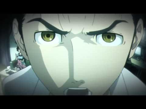 Steins gate, trailer.  YouTube