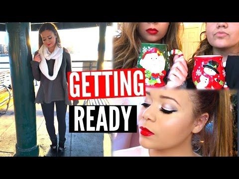 Get Ready With Me- Holiday Edition   Krazyrayray - YouTube