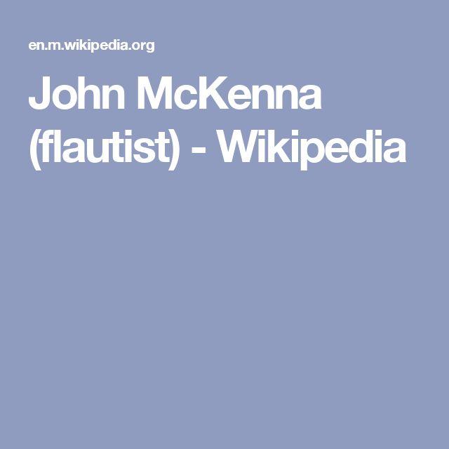 John McKenna (flautist) - Wikipedia