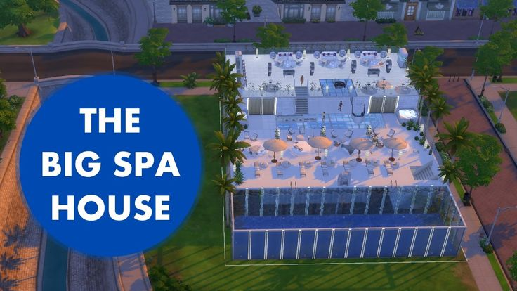 The Sims 4 - The Big Spa House Tour