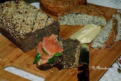 Homo sum: Безгютеновый низкоуглеводный белковый хлеб