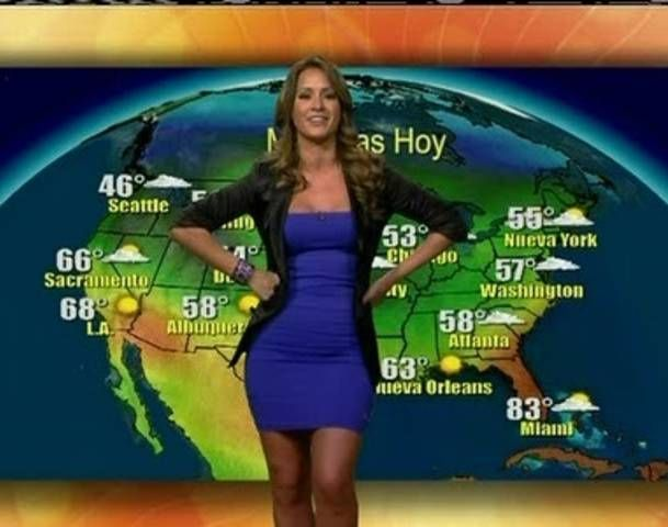 univisi u00f3n weather girl chiquinquira delgado