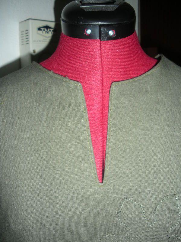 Tuto fente de la robe 14 livre 1 (Sans fermeture éclair) - Le blog de Zabou' : bou'de tissus et bou'de laines