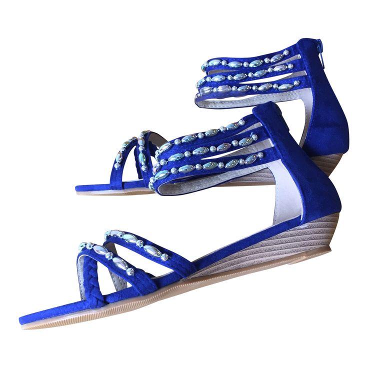 """DAY"" blue 72 USD www.caribbyshoes.com"