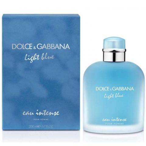 Light Blue Men Eau Intense es la nueva fragancia de Dolce&Gabbana para los hombres. Un eau de parfum intenso y duradero
