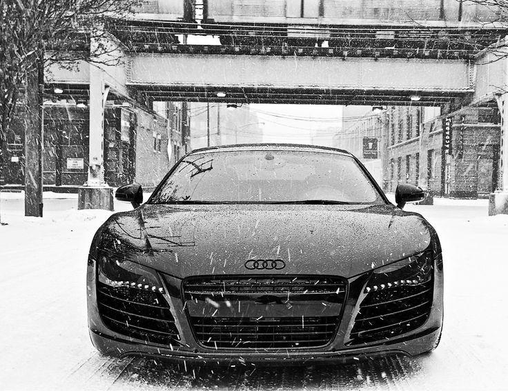Audi R8 Spyder Black Matte