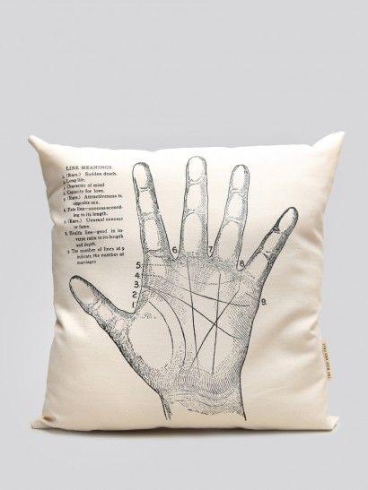 Palmistry Pillow - Gypsy Warrior