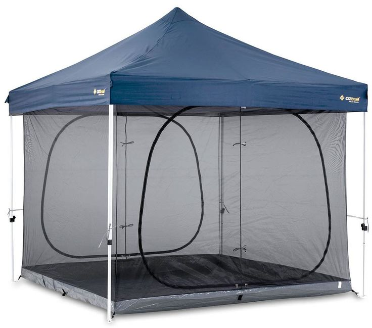 Sam for camping Get Free Delivery on Oztrail Screen House 3 x 3 Inner Kit - Huge Range of Gazebos at Australia's Best Online Camping Store