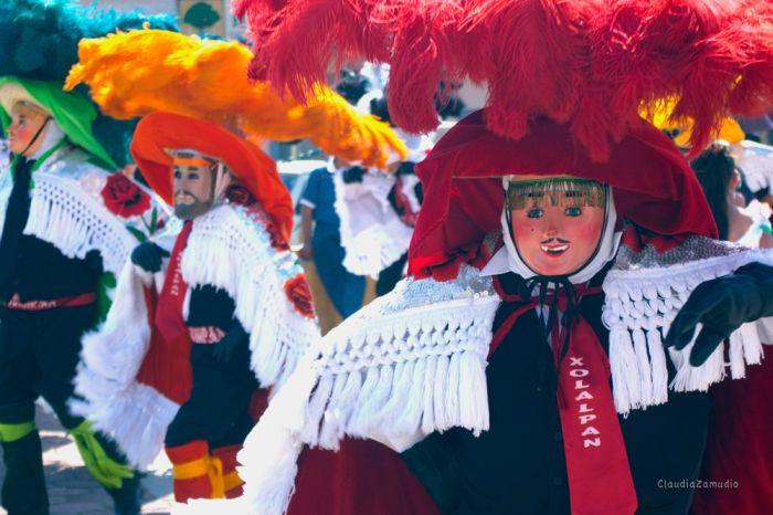 Camade de charros o paragüeros de Xolalpan. Foto: Claudia Zamudio