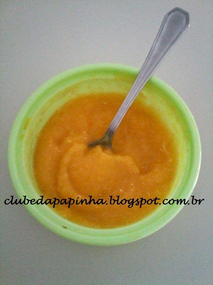 Idade: 6 meses   Grau de dificuldade: Fácil   Ingredientes: 2 maçãs pequenas     1 colher de sopa rasa de polpa de maracujá coado   Modo ...