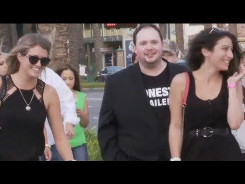 This week Kevin teams with Jon Bailey, voiceover actor for Honest Trailers, to make real life trailers using people on the street. Become a Breaker for new e...