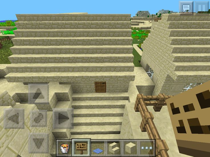 The upgrade version of my house in the sand village.
