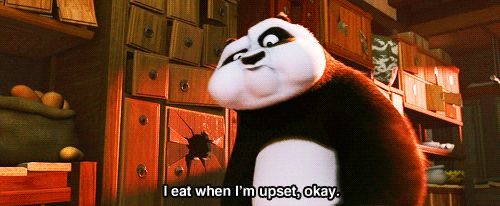 "You find comfort in food. | 18 Signs Po From ""Kung Fu Panda"" Is Your Spirit Animal"
