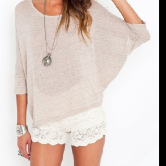 Cute lace shorts for summer: Baggy Shirts, Sweater, Lace Short Outfits, Bought Lace, Cute Tops, Lace Shorts Outfit, Cute Outfits, Lace Shortssss, Lace Outfit