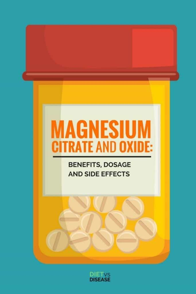 Magnesium is an essential mineral thought to several potential health benefits.This ranges from improving energy levels to treating constipation.This article explores the uses and possible side effects of the most common forms, magnesium citrate and magnesium oxide.