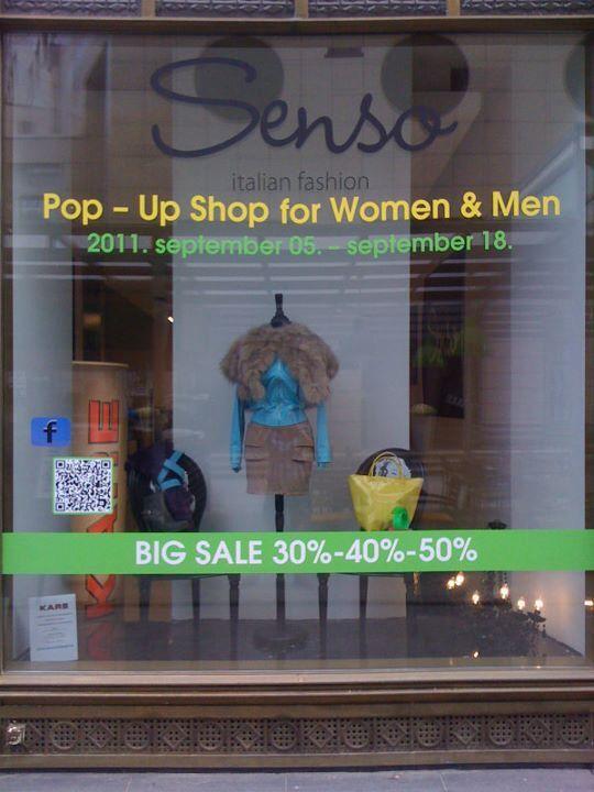Senso Pop Up in 2011 Vol 5.