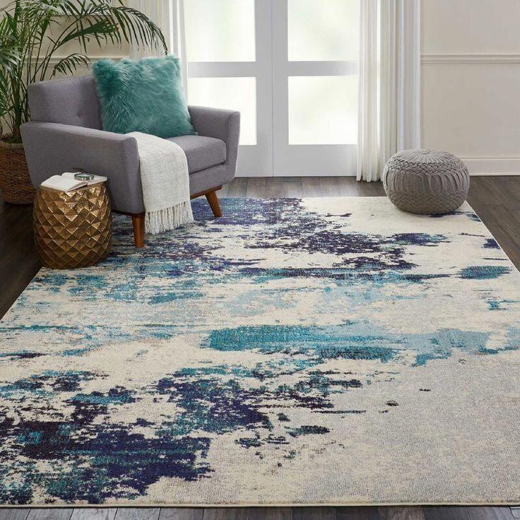Fabulous Concepts To Consider Geometricrug Teal Rug Living Room Area Room Rugs Colorful Area Rug