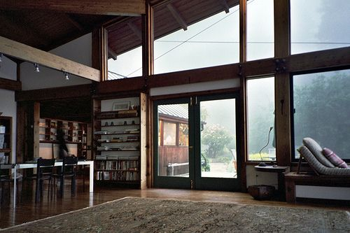Mill Valley: Dining Rooms, Big Window, Dreams, Open Spaces, The View, Glasses Wall, Wood Window, Inside Outside, Mountain Houses