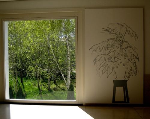Lourdes Castro -- what a great studio space