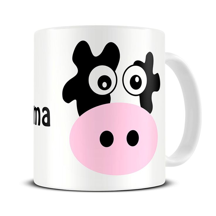 Personalised Mad Cow Coffee Mug - cow gifts - personalized mug for mom - MG088 by theMugHermit on Etsy https://www.etsy.com/listing/242295617/personalised-mad-cow-coffee-mug-cow