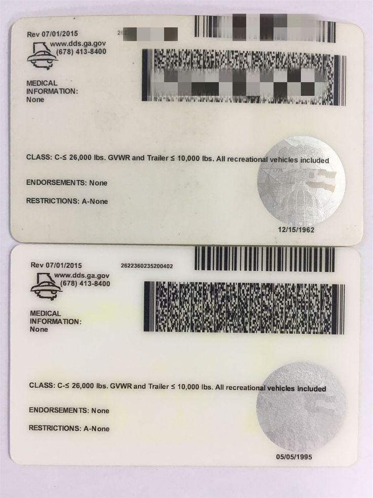 Fake ID review(GA Fake ID) Certificate, Birth