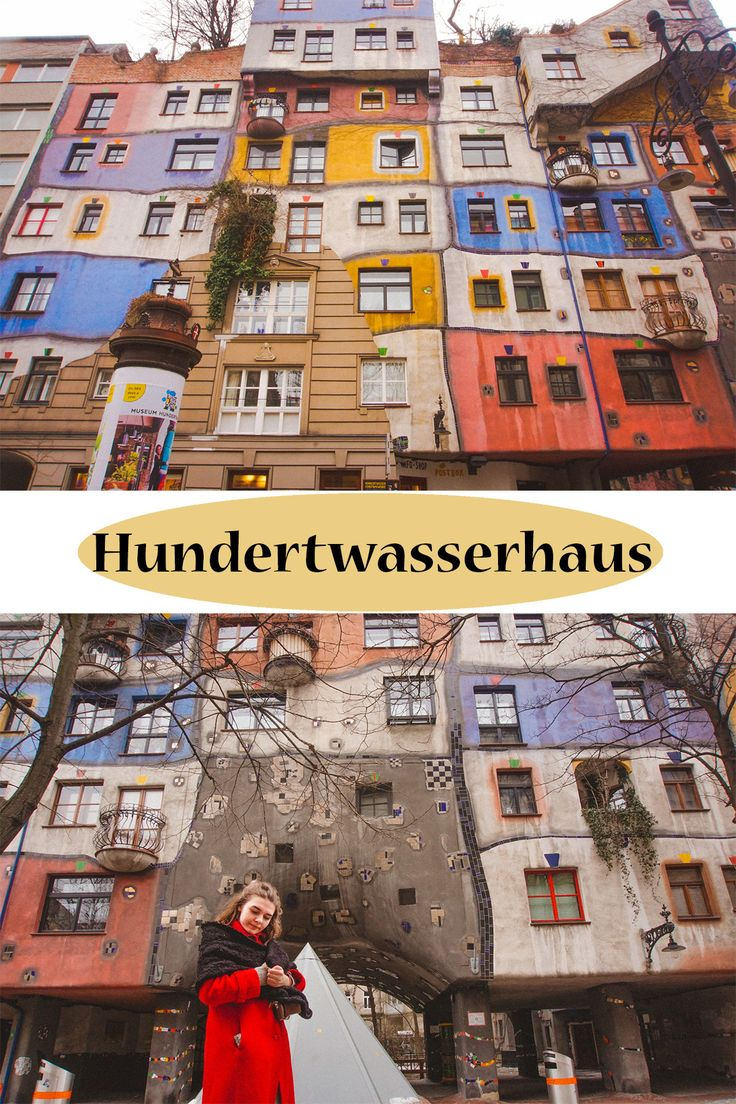 Vienna, Hundertwasserhaus #cheaptrip #vienna #artwork #fashion