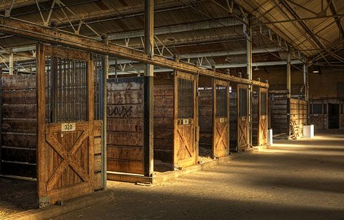 Open and rustic barn. I will have this full of horses when I win the lottery.