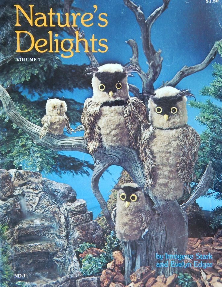 Macrame Animal Patterns Nature's Delights Vol. 1/  Instructions for Owls, Bear, Raccoon, Bunny/ Unusual, Dimensional-Please Read Description by RedWickerBasket on Etsy