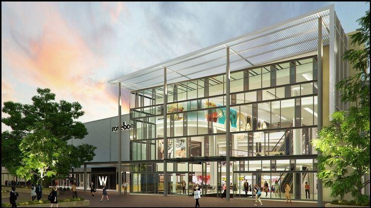 Rosebank Mall Redevelopment - 1  More info: http://blog.galetti.co.za/2013/03/rosebank-mall-redevelopment-ongoing/