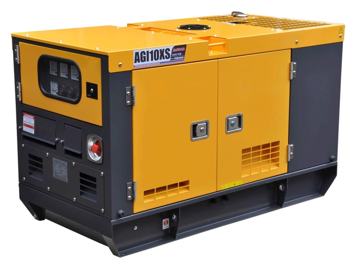 Whole Home Diesel Generator - Has service life of over 10,000 hours.  Run at 1800 RPM for less noise and much longer life.