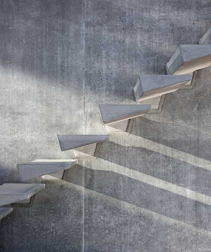 MOUNT modular concrete stairs by C.F. Møller Architects & HiCon